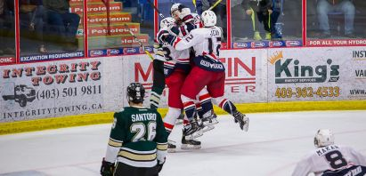 McKechney Scores in Overtime to Send Bandits to AJHL Final