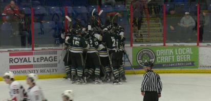 Oilers Down Bandits in Triple OT Thriller to Tie South Final