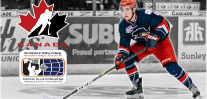 Bandit defenceman Ceulemans to represent Canada at World Under-17s
