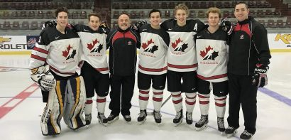 Five AJHL Players Named to Team Canada West for 2018 WJAC