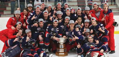 Brooks Bandits Repeat as League Champions, Makar Named MVP