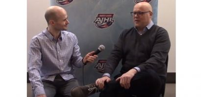 Canalta Hotels AJHL Coaches Show - GM Kyle Chase, Sherwood Park Crusaders