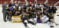 Three AJHL Alum Win Div III Crown with Wisconsin-Stevens Point