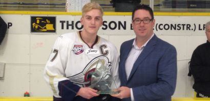 Saints Captain Dexter McLeod Awarded Gas Drive AJHL Scholarship
