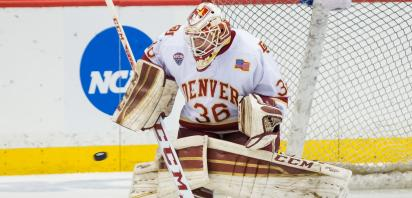 Tanner Jaillet Named NCHC Goaltender of the Year