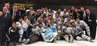 22 Alumni Capture ACAC Title wiith MacEwan University Griffins