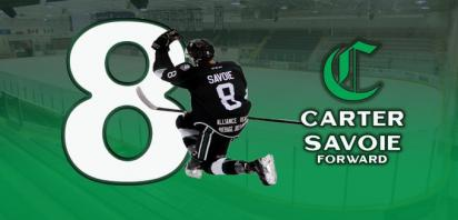 Carter Savoie Named Alberta Ford Dealers Player of the Month