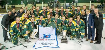 12 Alumni Win Canada West Title with U of A Golden Bears