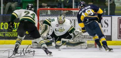 Saints Outlast Oilers in Overtime