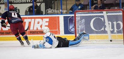 VIDEO: Bandits Come Back to Beat Penticton in Shootout at WCC