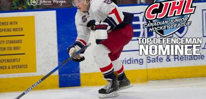 Makar Named Finalist for CJHL Top Defenceman Award