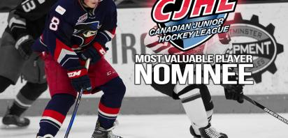 Makar Selected as CJHL MVP Finalist for 2016-2017