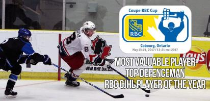 Makar makes history at RBC Awards Banquet