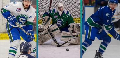 Three Canucks Named to the AJHL All-League and All-Rookie Teams